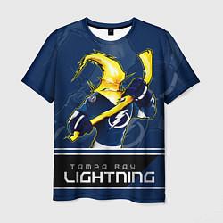 Футболка мужская Bay Lightning цвета 3D — фото 1