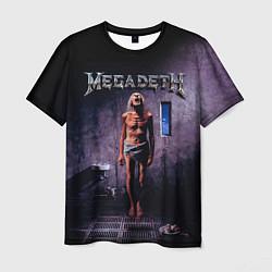 Футболка мужская Megadeth: Madness цвета 3D-принт — фото 1