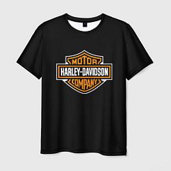 Футболка мужская Harley-Davidson: Motor Company цвета 3D — фото 1