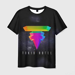Футболка мужская Tokio Hotel: New Symbol цвета 3D — фото 1