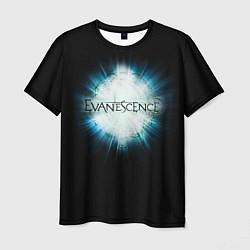Футболка мужская Evanescence Explode цвета 3D-принт — фото 1