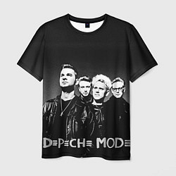 Мужская 3D-футболка с принтом Depeche Mode: mono, цвет: 3D, артикул: 10130513003301 — фото 1