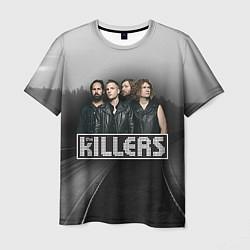 Футболка мужская The Killers цвета 3D — фото 1