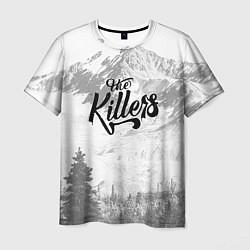 Футболка мужская The Killers: Alpen цвета 3D-принт — фото 1