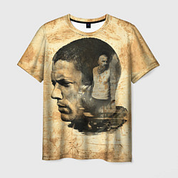 Футболка мужская Prison Break: Scofield Art цвета 3D — фото 1