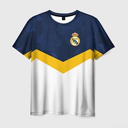 Футболка мужская Real Madrid FC: Sport цвета 3D-принт — фото 1