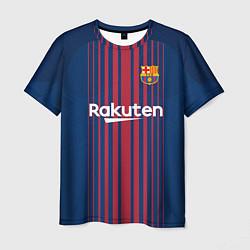 Футболка мужская Barcelona FC: Neymar Home 17/18 цвета 3D — фото 1