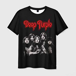 Футболка мужская Deep Purple цвета 3D — фото 1