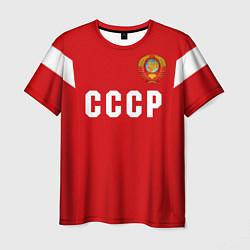 Футболка мужская Сборная СССР 1988 цвета 3D-принт — фото 1