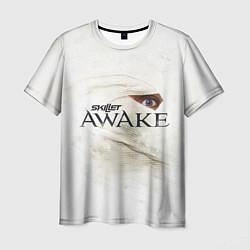 Мужская 3D-футболка с принтом Skillet: Awake, цвет: 3D, артикул: 10142760703301 — фото 1