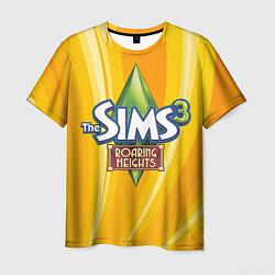 Футболка мужская The Sims: Roaring Heights цвета 3D-принт — фото 1