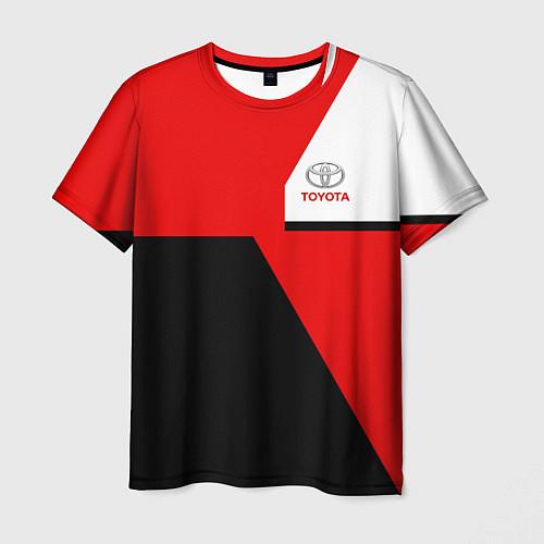 Мужская футболка Toyota Sport / 3D – фото 1