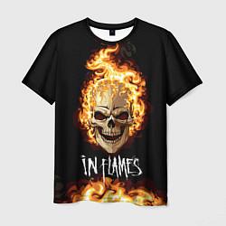 Футболка мужская In Flames цвета 3D — фото 1