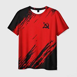 Футболка мужская USSR: Red Patriot цвета 3D — фото 1