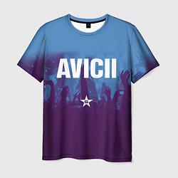 Футболка мужская Avicii Star цвета 3D-принт — фото 1