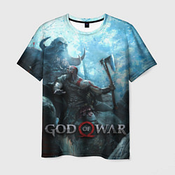 Футболка мужская God of War: Dynasty цвета 3D-принт — фото 1