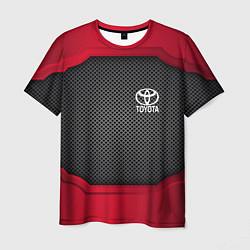 Футболка мужская Toyota: Metal Sport цвета 3D — фото 1