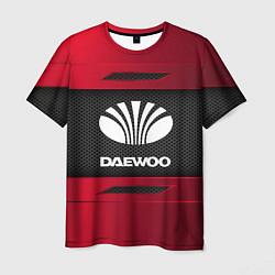 Футболка мужская Daewoo Sport цвета 3D-принт — фото 1