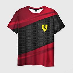 Футболка мужская Ferrari Sport цвета 3D — фото 1