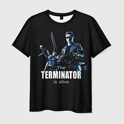 Футболка мужская Terminator: Is alive цвета 3D-принт — фото 1