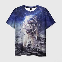 Футболка мужская Starfield: Astronaut цвета 3D — фото 1