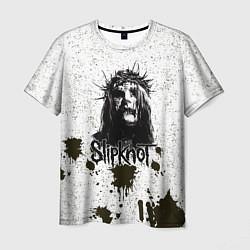 Футболка мужская Slipknot Demon цвета 3D-принт — фото 1