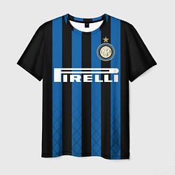 Футболка мужская Inter: Icardi 18-19 цвета 3D-принт — фото 1