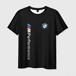 Футболка мужская BMW PERFORMANCE цвета 3D — фото 1