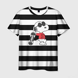 Футболка мужская Vans Doggy цвета 3D-принт — фото 1