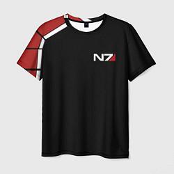 Мужская футболка MASS EFFECT N7