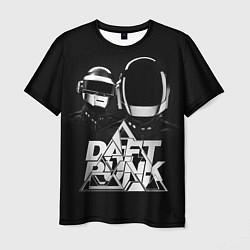 Футболка мужская Daft Punk: Space Rangers цвета 3D-принт — фото 1