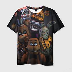 Футболка 3D мужская Five Nights at Freddy's - фото 1