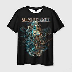 Футболка мужская Meshuggah: Violent Sleep цвета 3D — фото 1