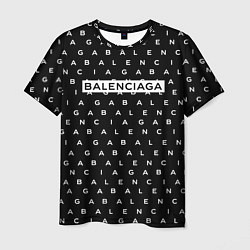 Футболка мужская Balenciaga: ABC цвета 3D — фото 1