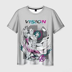 Футболка мужская Vision Neon цвета 3D — фото 1