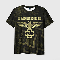 Футболка мужская Rammstein цвета 3D-принт — фото 1