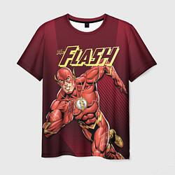 Футболка мужская The Flash цвета 3D-принт — фото 1