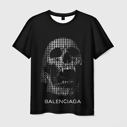 Мужская футболка Balenciaga / 3D – фото 1