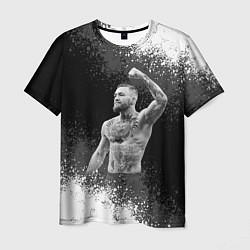 Мужская 3D-футболка с принтом Conor McGregor, цвет: 3D, артикул: 10203896703301 — фото 1