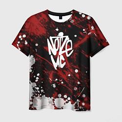 Футболка мужская Noize MC цвета 3D — фото 1
