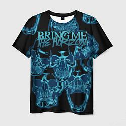 Мужская 3D-футболка с принтом Bring Me the Horizon, цвет: 3D, артикул: 10209775903301 — фото 1