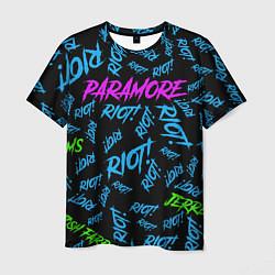 Футболка мужская Paramore RIOT! цвета 3D-принт — фото 1