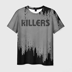 Футболка мужская The Killers Logo цвета 3D — фото 1