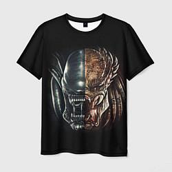 Мужская 3D-футболка с принтом PREDATOR, цвет: 3D, артикул: 10217949903301 — фото 1