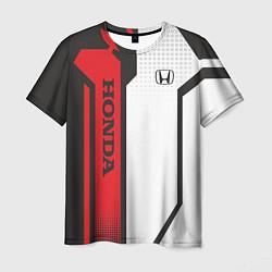 Футболка мужская Honda Driver team цвета 3D — фото 1