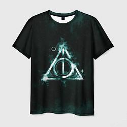 Футболка мужская Гарри Поттер цвета 3D — фото 1