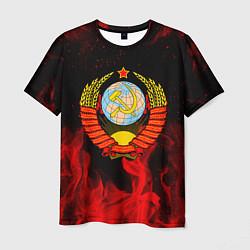 Футболка мужская СССР цвета 3D-принт — фото 1