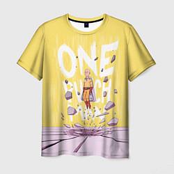 Мужская 3D-футболка с принтом One Punch Man, цвет: 3D, артикул: 10238408303301 — фото 1