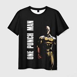 Мужская 3D-футболка с принтом One Punch Man, цвет: 3D, артикул: 10239120103301 — фото 1