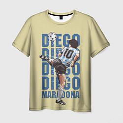 Футболка мужская Diego Diego цвета 3D-принт — фото 1